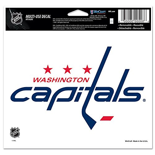 NHL Washington Capitals Multi-Use Colored Decal, 5