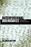Interpersonal Boundaries, , 0765704021
