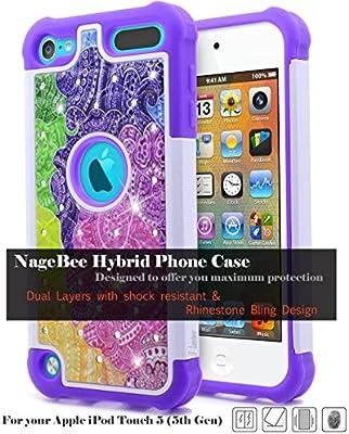 Amazon.com: NageBee - Carcasa para iPod Touch 6 (silicona ...