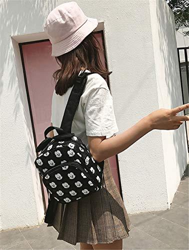 Noir pour Femme au Sac JUND Dos Noir Main Noir à porté p6g6Yzq