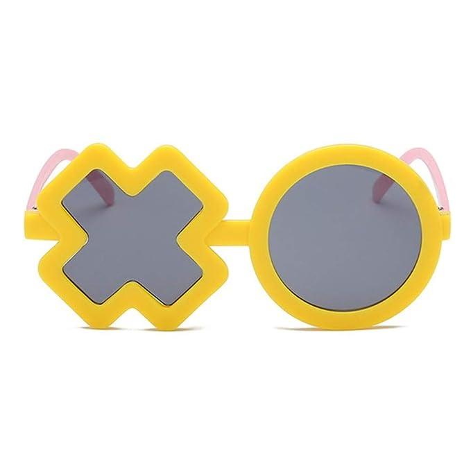 Wang-RX Niños con gafas de sol polarizadas en forma de XO ...