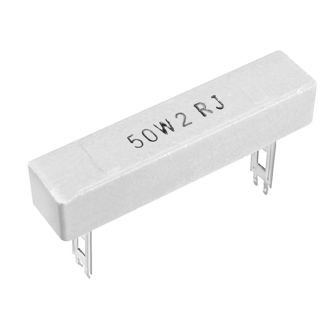 uxcell 10W 10k Ohm Power Resistor Ceramic Cement Resistor Axial Lead 5 Pcs White a18033000ux0016