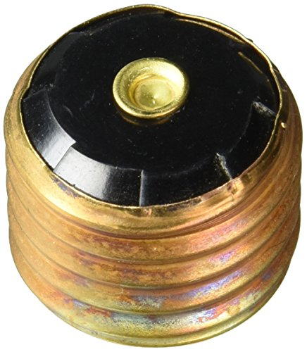 Bussmann SA-30 30 Amp Single Motor Circuit Edison Base Fustat Fuse Adaptor, 4-Pack (Fustat Adapter)