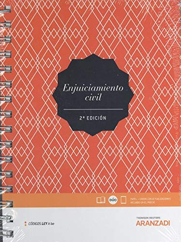 Enjuiciamiento Civil (LeyItBe) (Papel + e-book) (Código Básico) por Departamento de Contenidos Aranzadi