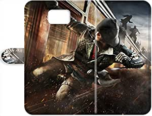 New Premium Leather Case Cover For Assassins Creed Syndicate Samsung Galaxy Note 5 Leather Case 3570804PJ494876082NOTE5 Robert Taylor Swift's Shop