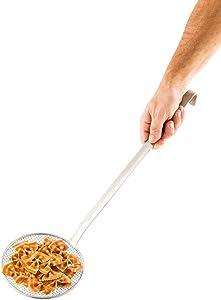 """6"""" Food Skimmer, Fat Skimmer, Wire Skimmer - Commercial Grade - Stainless Steel - 1ct Box - Met Lux - Restaurantware"""