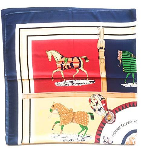 EQUESTRIAN SILK SQUARE IN STYLE OF HERMES SCARF SILK SHAWL SILK WRAP WOMENS FASHION SCARF - Equestrian Silk Scarf