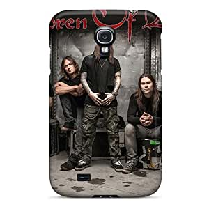 KevinCormack Samsung Galaxy S4 Shock-Absorbing Hard Phone Covers Provide Private Custom Realistic Children Of Bodom Band Skin [afB17951oHAZ]