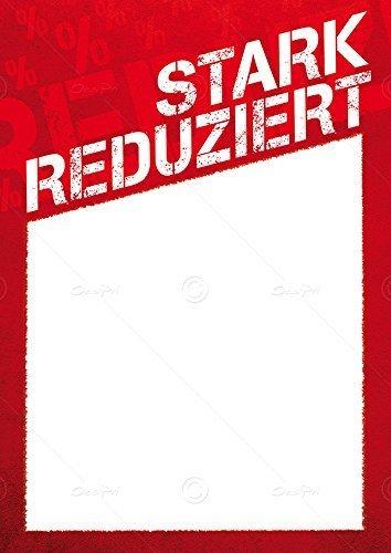 Cartel Precio, diseño de cartel Ahora sólo DIN A6 con texto ...
