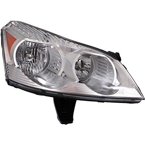 Headlight for Chevy Traverse 09-12 RH Composite Assembly Halogen LS/LT Models w/Bulb(s) Passenger Side ()
