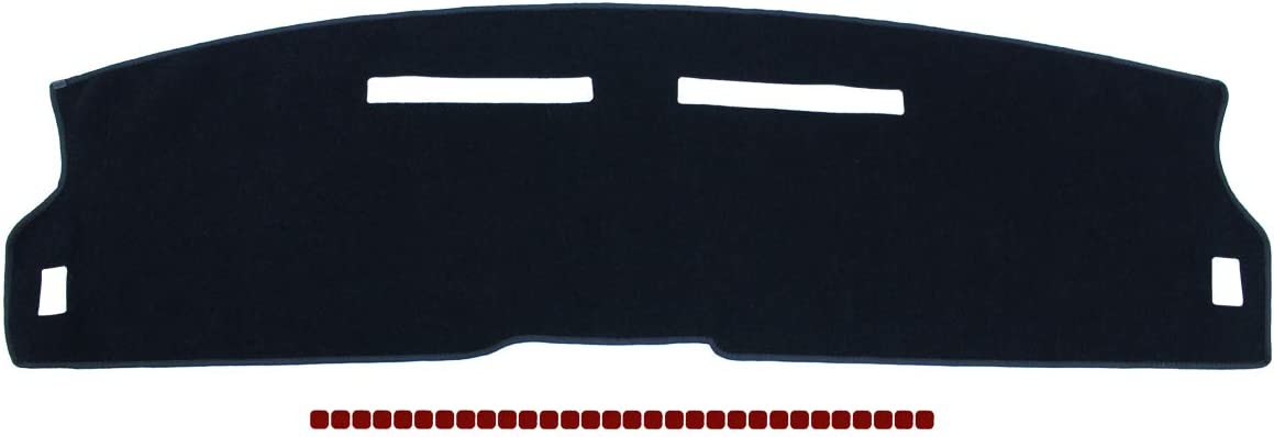 NewYall Black Dash Dashboard Cover Mat