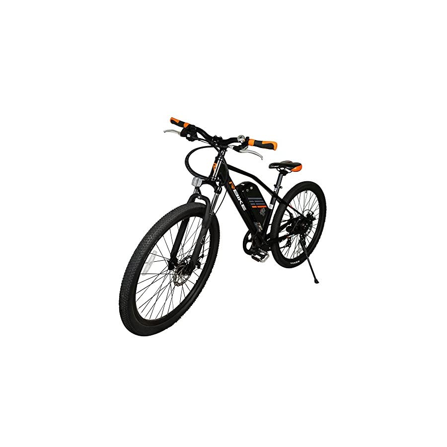 Mountain Bike Outdoor Sports Bicycle Built in Electric Powerful Electric Motor of 36V 240W Ship from California USA with Removable Lithium Battery Mountain Bicycle