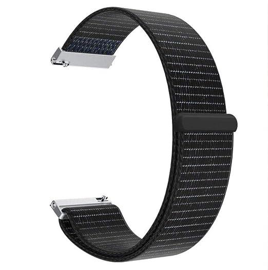 MYQyiyi Correa de Nylon de Reloj para HUAMI Amazfit Stratos Smart Watch 2/2S