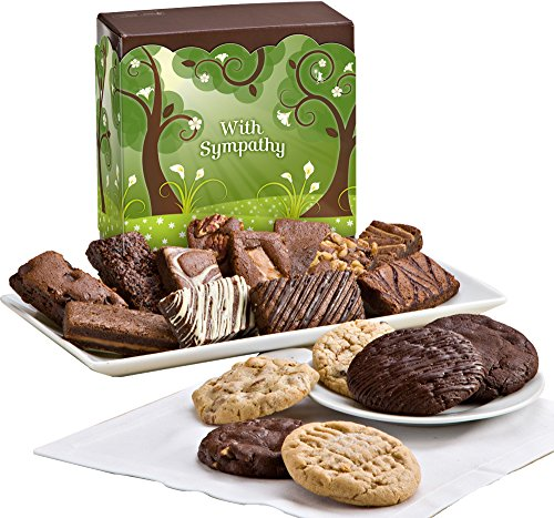 Fairytale Brownies Sympathy Cookie & Sprite Combo Gourmet Food Gift Basket Chocolate Box