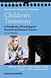 img - for Children's Testimony: A Handbook of Psychological Research and Forensic Practice book / textbook / text book