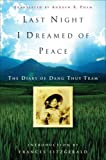 Last Night I Dreamed of Peace, Dang Thuy Tram, 0307347389
