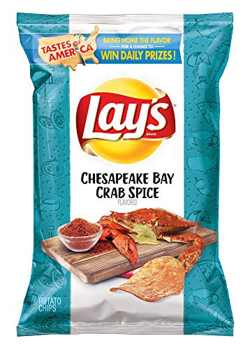 Lays Tastes of America Chesapeake Bay Crab Spice