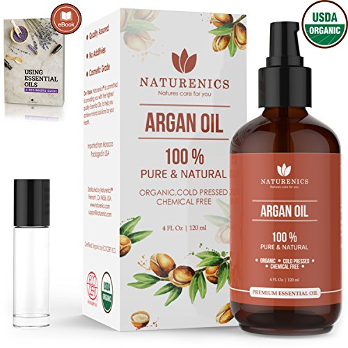 Naturenics Argan Organic Pressed Moroccan