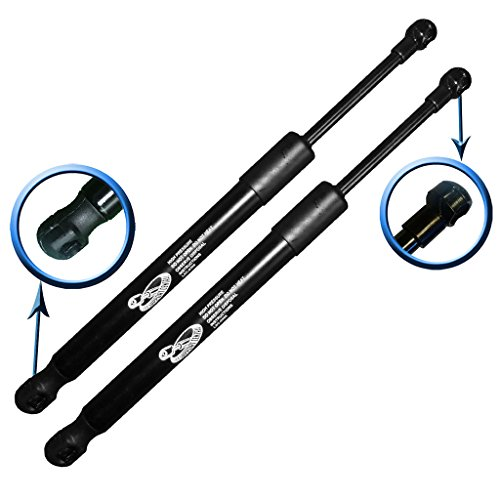 Two Rear Trunk Lid Gas Charged Lift Supports for 2003-2008 Infiniti G35. Left and Right Side. LSC-0420-2