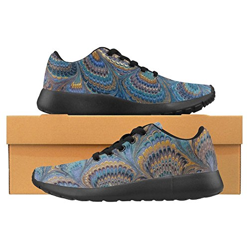 InterestPrint Womens Jogging Running Sneaker Lightweight Go Easy Walking Casual Comfort Sports Running Shoes For Women Multi 45 NDe4ab6PwB