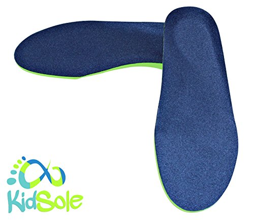 Neon Fix SPORT Premium Grade Orthotic Insole by KidSole. Revolutionary Lightweight Soft & Sturdy Orthotic Technology For Flat Feet and Arch Support ((20 CM) US Kids Shoe Sizes 12-1.5) by KidSole (Image #4)