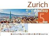 Popout Map Zurich Double (PopOut Maps) [Idioma Inglés]