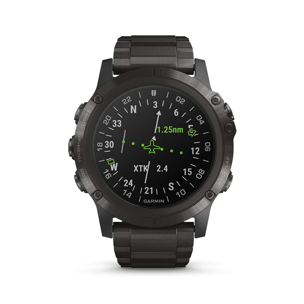 Garmin D2 Delta GPS Pilot Watch, Incluye Reloj Inteligente ...