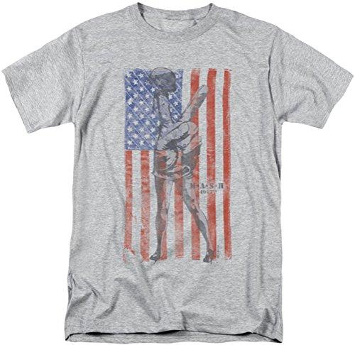 M*A*S*H - Mens Hang Em High T-Shirt, XX-Large, Athletic Heather