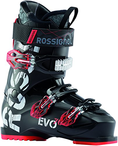 Rossignol Evo 70 Ski Boots Black/Red Mens Sz 15.5 (33.5)