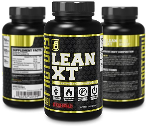 LEAN-XT-Fat-Burner-No-Stimulants-or-Caffeine-Added-Premium-Fat-Loss-Ingredients-Acetyl-L-Carnitine-Green-Tea-Extract-Forskolin-Weight-Loss-Supplement-Appetite-Suppressant-60-Veggie-Pills