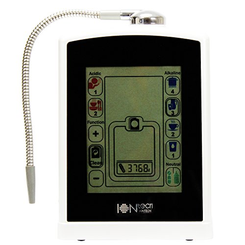 IONtech IT-588 Luxury Alkaline Water Ionizer Machine 7 pH Water Levels Japan Made Platinum Titanium Electrolysis Plates USA Made NSF Certified Activated Carbon Filter PH Test Included by IntelGadgets (Image #4)