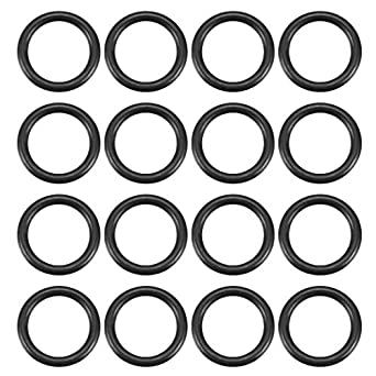 Ochoos 50pcs 11mm Outer Diameter 8mm Inner Diameter 2mm Thickness Flexible Nitrile Butadiene Rubber O Ring Black Sealing Gaskets Size: OD 11mm, Color: Black, Thickness: 2mm, Inner Diameter: M8