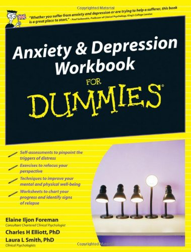 Anxiety and Depression Workbook for Dummies (UK Edition): Amazon ...