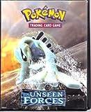 Ultra Pro Pokemon Card Supplies 4-Pocket Mini Portfolio Binder EX Unseen Forces