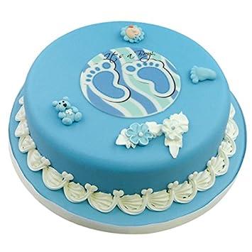 Cake Company Torten Deko Baby Zur Geburt Junge Kuchen Deko Set Aus