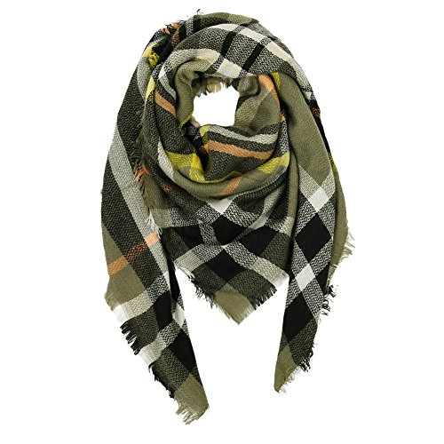 I love this scarf!! The colors are beautiful for fall and it is so soft and cozy. The quality is amazing for the price!
