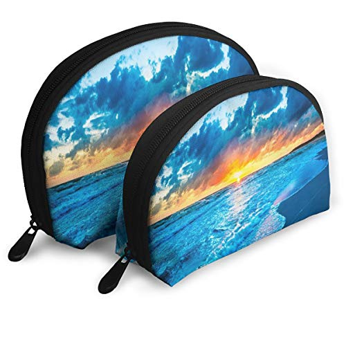 er The Beach Portable Shell Beauty Bags Storage For Women ()