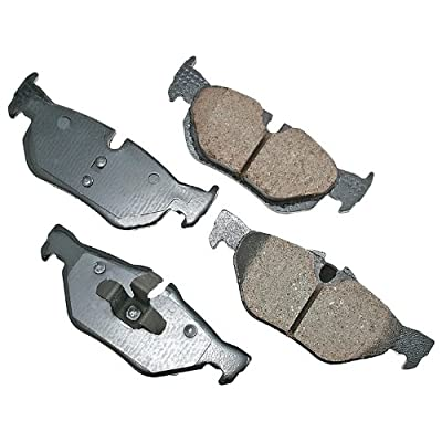 Akebono EUR1267 Euro Ultra Premium Ceramic Disc Brake Pad Kit: Automotive