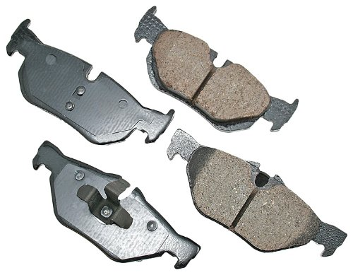 (Akebono EUR1267 EURO Ultra-Premium Ceramic Brake Pad Set)