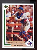 1991 upper deck final edition #55f IVAN RODRIGUEZ texas rangers ROOKIE card - Mint Condition Ships in New Holder