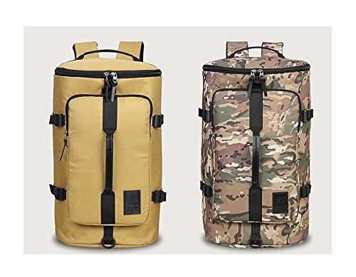 YYY-Un nuevo día senderismo bolsa de acampar al aire libre deportes artículo viajes para los hombres y las mujeres mochila 27 * 22 * 47 cm , standard camouflage 35l standard camouflage 35l