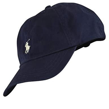 Ralph Lauren Baby Boys Baseball hat Cap Age 9-24 mths Navy  Amazon ... acd8eba540e
