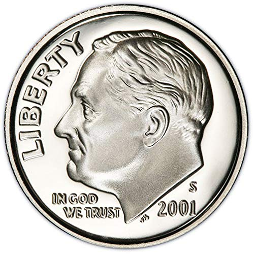 2001 S Silver Proof Roosevelt Dime Choice Uncirculated US Mint