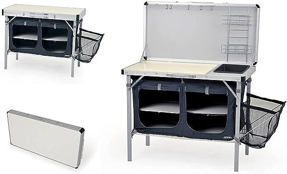 Mueble Cocina para Camping Combi Plus. Dimensiones: 100 x 50 x 77