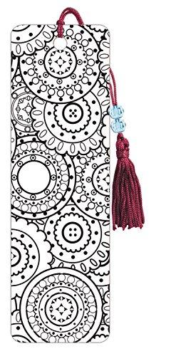 Premier Bookmarks Mandala Coloring Bookmark: Amazon.co.uk: Kitchen ...