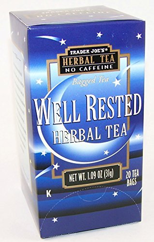 Cheap Trader Joe's Well Rested Herbal Tea No Caffeine 1.09 Oz (Pack of 4)