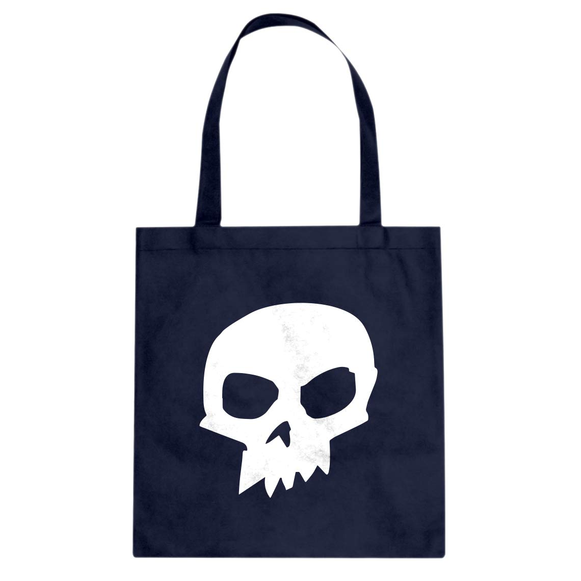 Indica Plateau Sid Skull Shirt Cotton Canvas Tote Bag