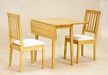 Neue Esstisch Ecke kleine Küchen-Home Tisch, 2 Stühle ...