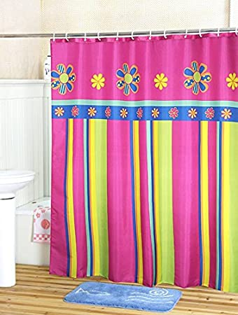 Stall Extra Long Shower Curtain Liner With Hooks 54 X 78 Welwo Inch Wide