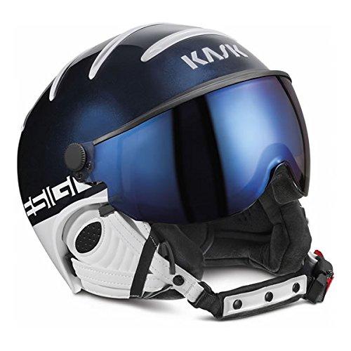 KASK(カスク) KASK ヘルメット 2019 CLASS SPORT Navy(ネイビー) SHE00027206 バイザーヘルメット クラス スポーツ 18-19 KASK ヘルメット スキー 【C1】 B01N0LGSKG   58(57-58cm)